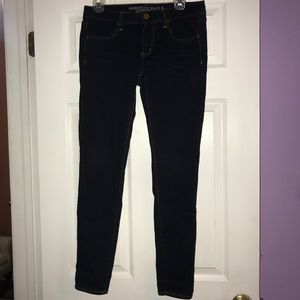 American Eagle Dark Wash Jeggings